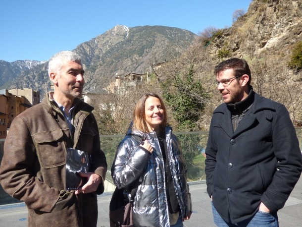 Rosa Gili i Marc Magallón són els candidats d'Acord a Escaldes-Engordany.