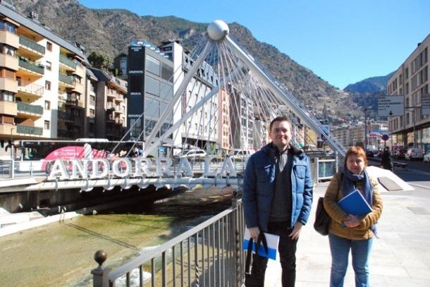 Puig i Ferrer, ahir al pont de París.