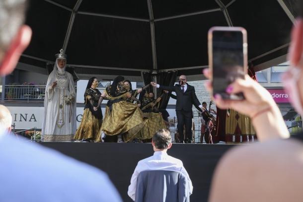 Sant Julià va salvar els actes més tradicionals de la festa, com la Marratxa.
