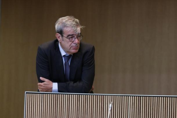 Ladislau Baró, aquesta legislatura, i Enric Tarrado, el 2005, a Casa de la Vall, dos casos de longevitat extrema.
