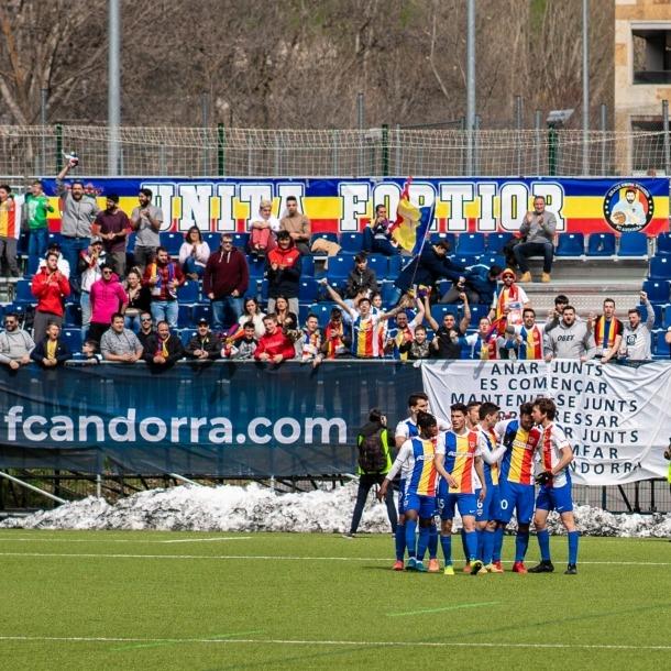 L'FC Andorra es podria acollir a un programa d'ajudes econòmiques plantejades per la Reial Federació Espanyola de Futbol.