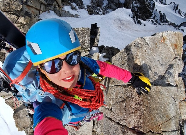 L'alpinista Stefi Troguet.