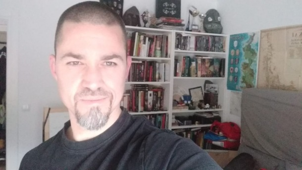 Puig, guanyador de l'últim premi Verne de la Nit Literària.