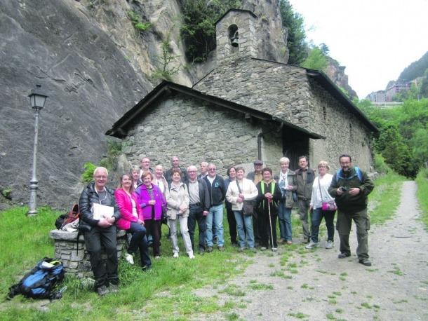 L'Amopa visita diferents  indrets històrics del país