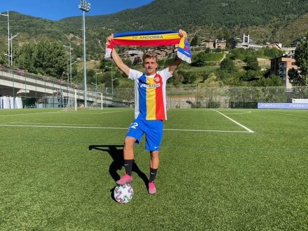 Pau Martínez, nou jugador de l'FC Andorra.