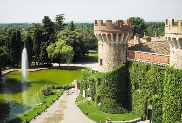 El castell de Peralada.