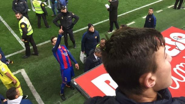 Javier Tebas defensa l'aposta de Gerard Piqué amb l'FC Andorra