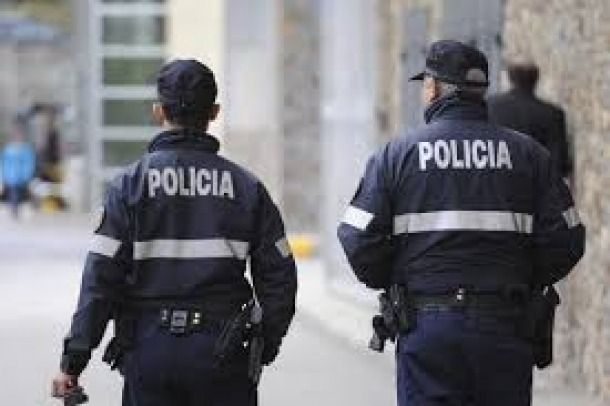Dos agents de policia.
