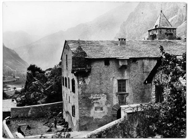 Brigadistes polonesos refugiats a Casa de la Vall, la tardor del 1938