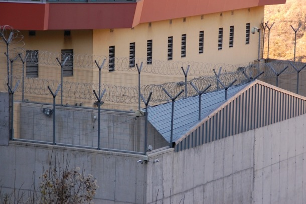 ANA/ Imatge exterior del centre penitenciari de la Comella.