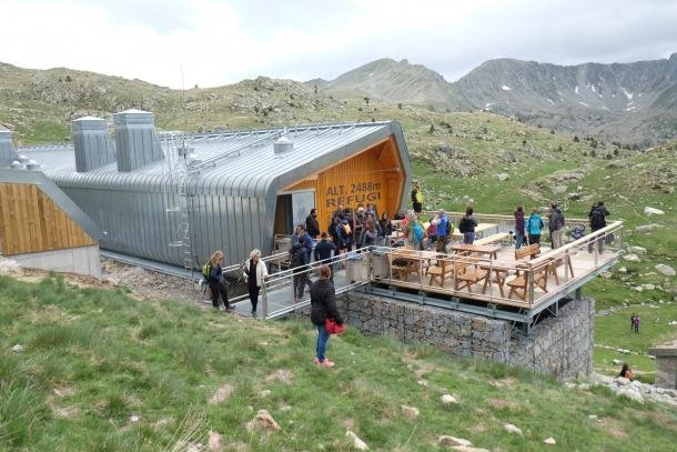 ANA/ El refugi de l'Illa, a la vall del Madriu, és un dels inclosos en el projecte Entrepyr II.