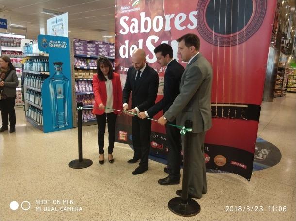 La Fira d'aliments d'Andalusia s'ha inaugurat aquest matí al River Centre Comercial