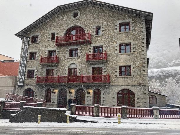 Una imatge d'arxiu de l'hotel Rosaleda, on hi ha el ministeri de Cultura i Esports