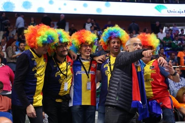 L'afició del BC MoraBanc, una de les notícies més positives d'aquesta Copa del Rei a Màlaga