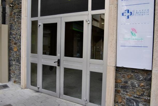 ANA/ El Centre d'Atenció Primària de Sant Julià de Lòria.
