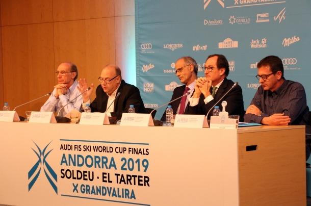 ANA/ Conrad Blanch, Josep Mandicó, Toni Martí,  Xavier Cornella,  Josep Pintat, avui.