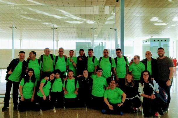 Special Olympics/ La delegació marxa cap a Abu Dhabi