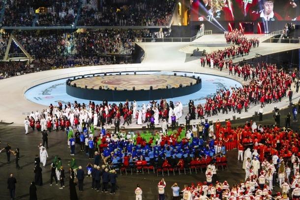 Special Olympics Abu Dhabi/ Inauguració dels jocs Special Olympics Abu Dhabi 2019.