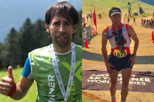 Ferran i Xavi Teixidó, corredors andorrans de curses de muntanya.