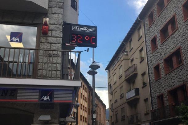 Les temperatures de l'estiu han estat dos graus per sobre de la mitjana Les temperatures de l'estiu han estat dos graus per sobre de la mitjana