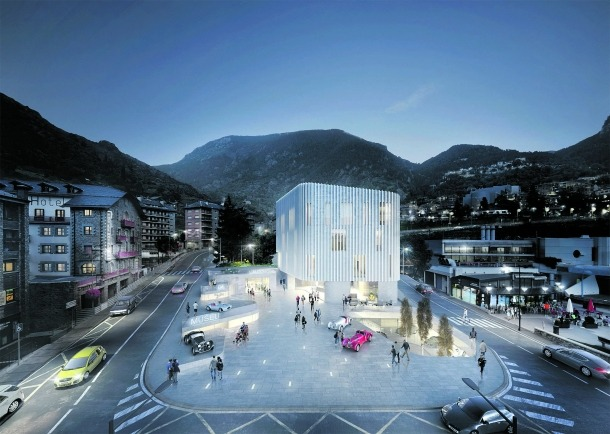 'Granit i vidre', el projecte guanyador del concurs, tindrà un cost aproximat d'11,5 milions d'euros.