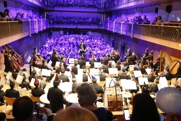 El concert de Cap d'Any de l'ONCA del 2018 a l'Auditori.