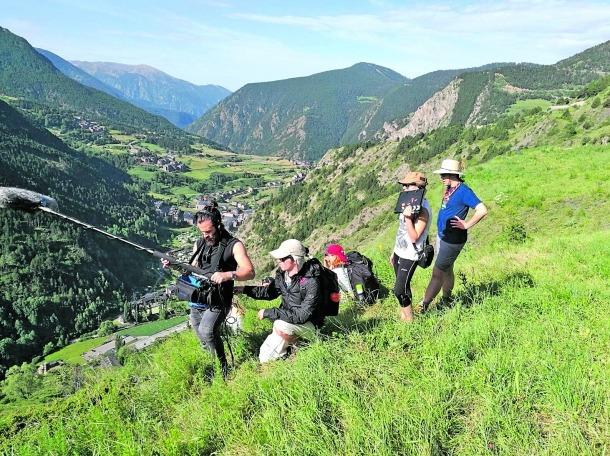 Andorra, Canillo, AINA, documental, Entre muntanyes, Jaume Planella, Ricard Vallés, patrocini,