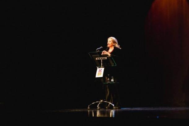 La directora de l'Acadèmia catalana, Isona Passola, va amadrinar la presentació de l'ACPA, el febrer del 2017 al Centre de Congressos.
