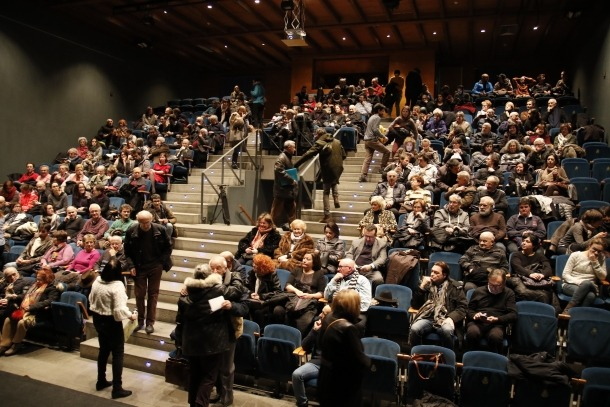 La reforma del Comunal permetrà renovar el pati de butaques, que és el mateix de quan va obrir el teatre, el 1995.