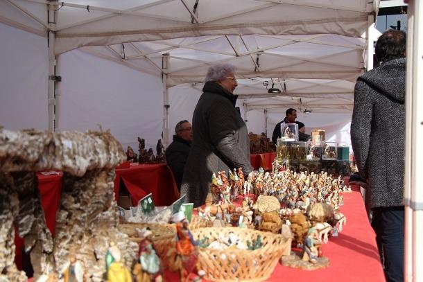 Les parades de figuretes del pessebre són un clàssic de la Fira de Santa Llúcia.