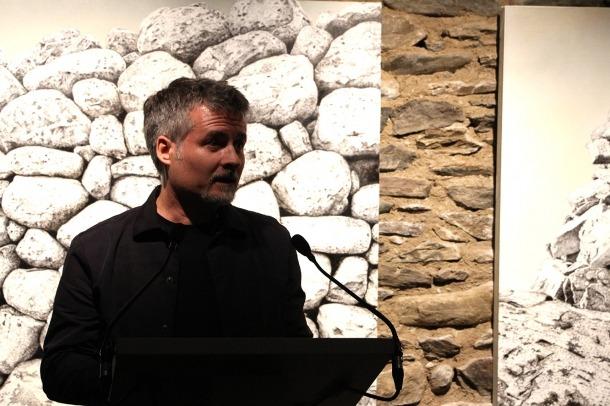El pintor català, l'octubre passat a Cal Pal, en la inauguració del nou espai.