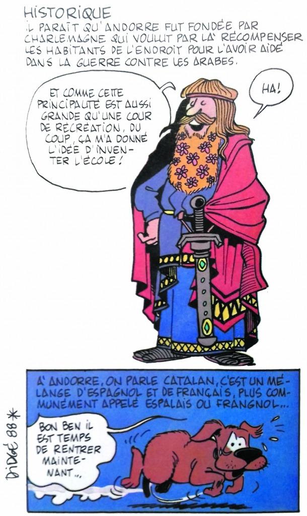 Brometa imperial del Gran Carlemany, sortida novament del llapis de Didgé.