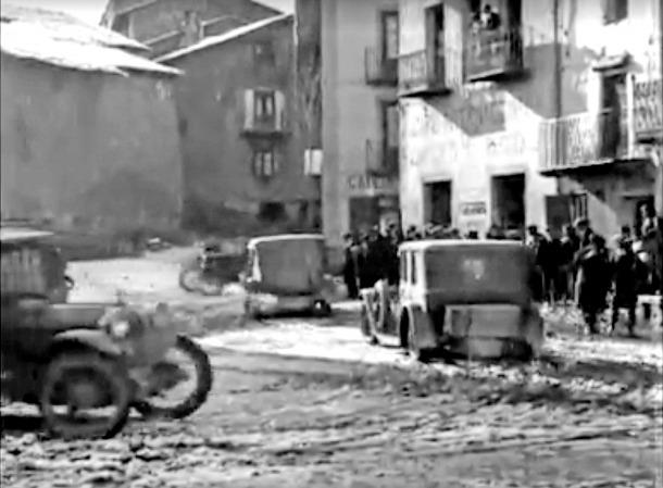 Andorra, Arxiu Nacional, pel·lícula, Consell General, Ward, Rolls-Royce, Silver Ghost, Coletes, Rossell, lpaça Benlloch, cursa, carrera