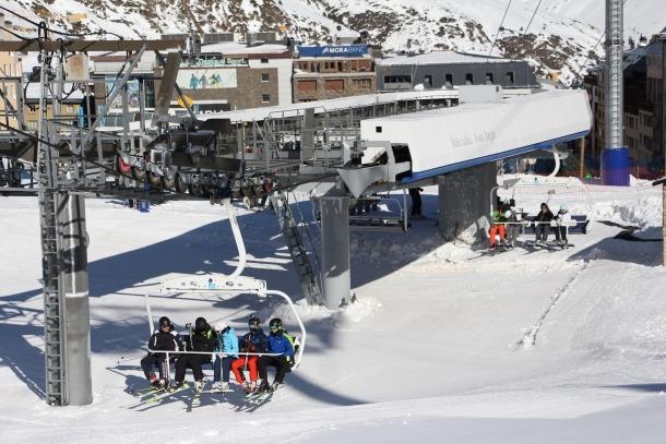 Esquiadors al sector del Pas de la Casa, l'hivern passat.
