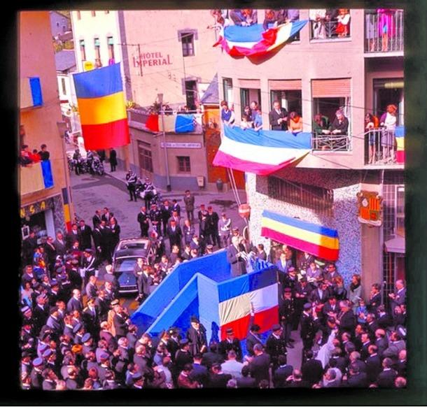 Andorra, Canillo, Mereig, aniversari, atemptat, Casi Arajol, De Gaulle, Sud Radio