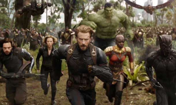 Captura d' 'Infinity War', tercera entrega de la sèrie 'Vengadores', que s'estrena el cap de setmana anterior a la Festa del Cine.