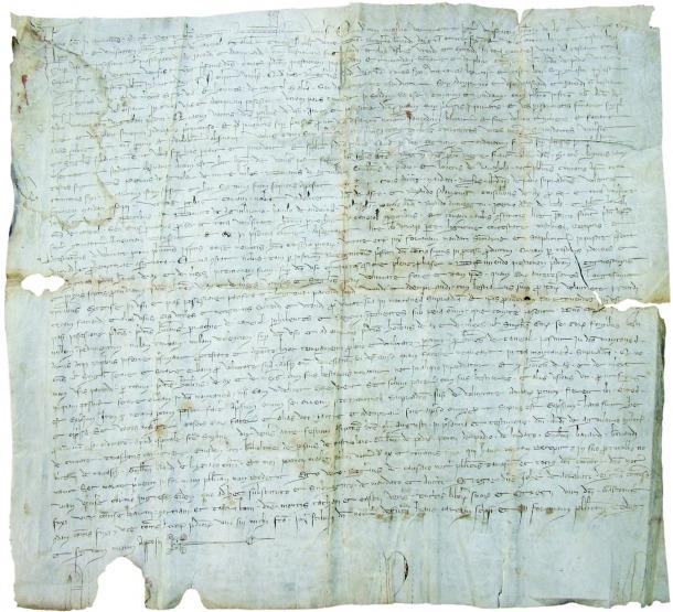 Andorra, pergamí, Canillo, 1300, sentència, Acs, Merens, Arxiu parroquial, Bascompte