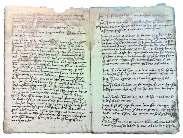 Judici per bruixeria contra Maria Tomassa de la Mosquera (1489), que va acabar a la foguera.