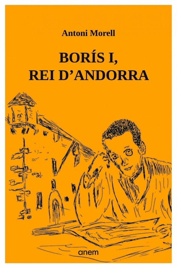 Portada de la reedició de 'Borís I' que dilluns arriba a les llibreries.