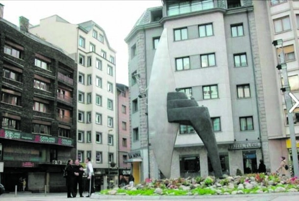 'UNDR', la destral de Cerdà, que va regnar a la plaça entre el 2003 i el 2008.