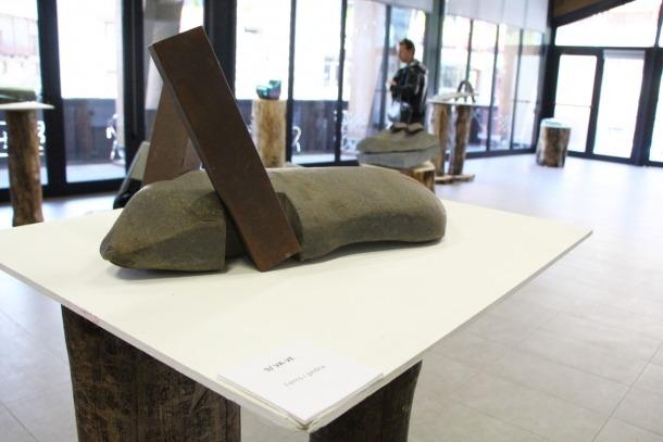 Escultura d'Altés a la sala La Buna, des d'avui i fins al 22 de setembre.
