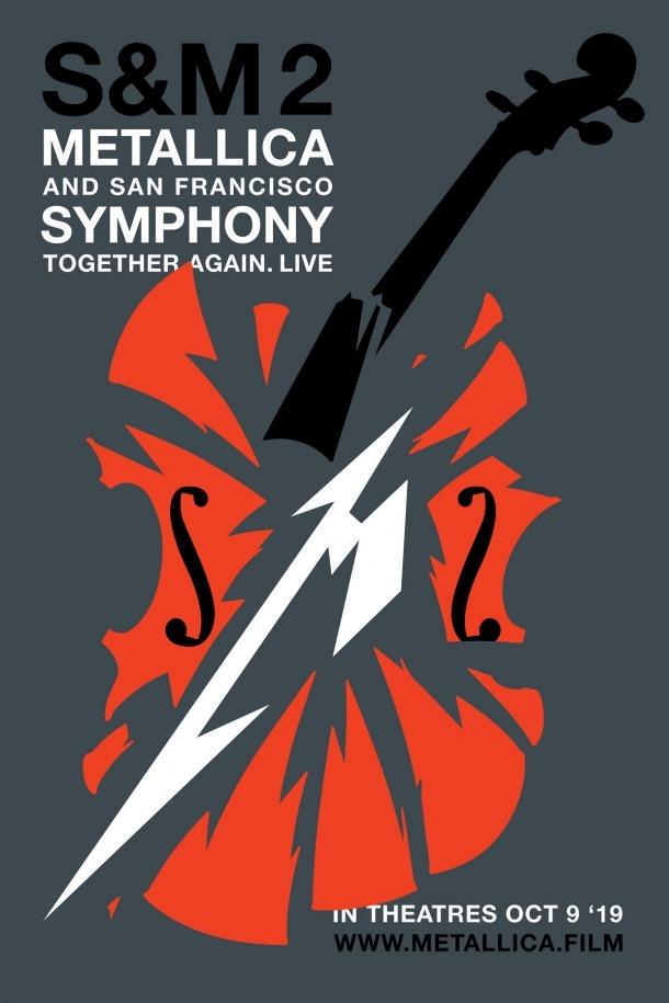 Cartell oficial de la sessió del 9 d'octubre, que serà única i simultània a més de 3.000 cines de tot el món, inclòs Illa Carlemany.