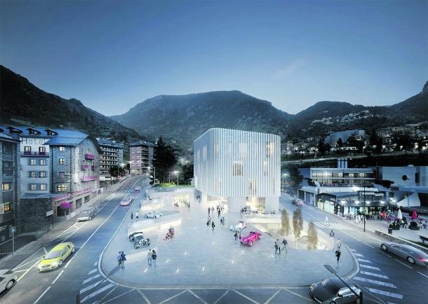 'Granit i vidre' va guanyar el novembre del 2018 concurs per al futur museu de l'automòbil, que el Govern vol aixecar a Encamp.