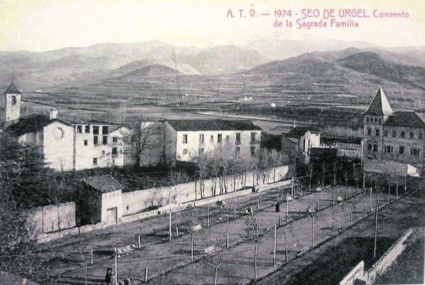 Andorra, la Seu, Llorens, topografia, escrofulós, història, antropologia