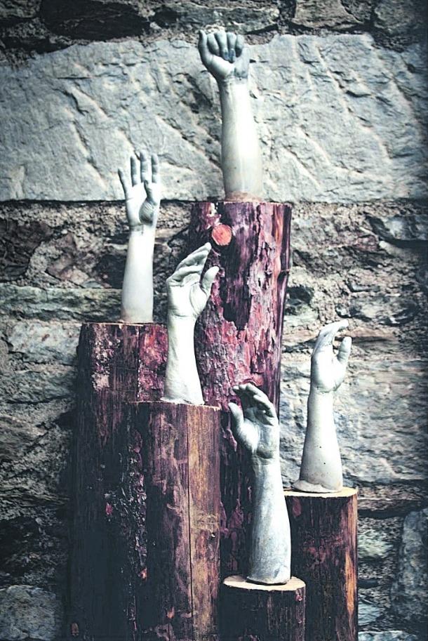 Andorra, Land art, biennal, Pere Moles, Toni Martí, Olga Gelabert, Gelabert, fàbrica de llama, Zona Ras, Engolasters