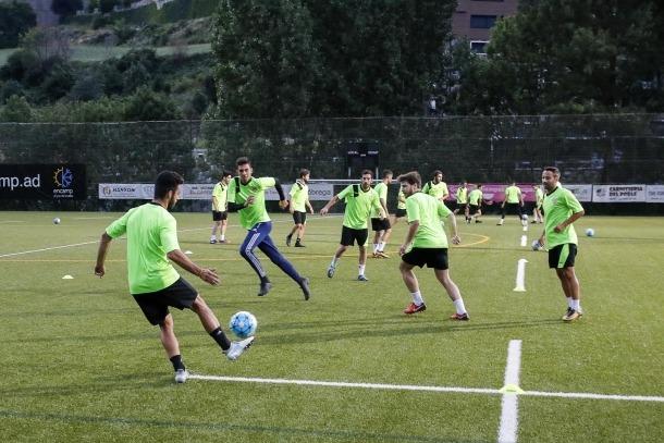 L'FC Andorra inicia el projecte de Richard Imbernón