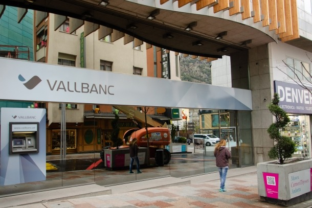 ANA/ La seu central de Vall Banc, a Escaldes-Engordany.