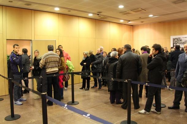 ANA/ Cues d'electors en les darreres eleccions comunals a Andorra la Vella.