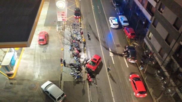 Els vehicles implicats en l'accident d'ahir a la nit.