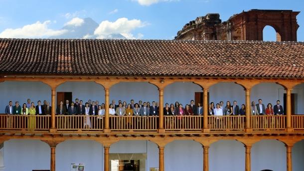 Els responsables de medi ambient i energia d'Andorra han estat a les reunions celebrades a La Antigua.